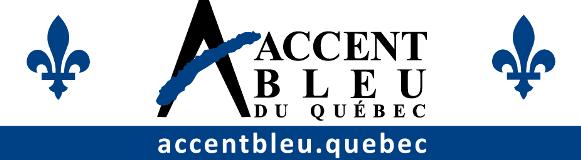 Accent bleu du Québec Montréal