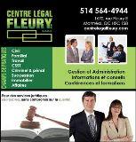 Centre Légal Fleury s.e.n.c. Montréal
