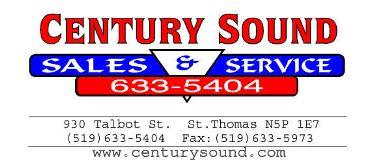 Century Sound Sales & Service St. Thomas (Elgin)