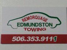 Remorquage Edmundston Towing Saint-Jacques (Edmundston)